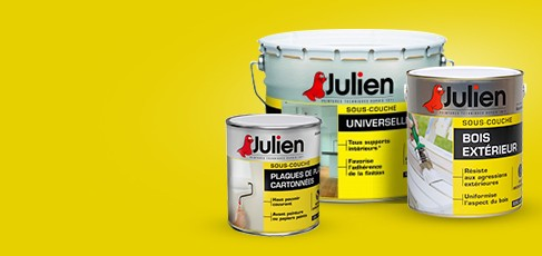 Julien peintures technique depuis 1871 for Sous couche julien j7