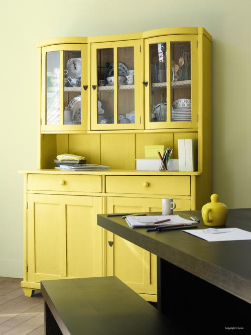 Peintures meubles peintures julien - Vaisselier de cuisine ...