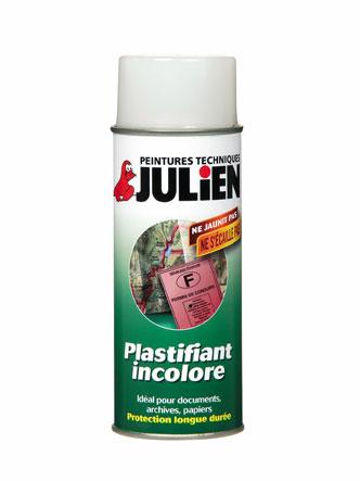 A rosol plastifiant incolore peintures julien - Temps de sechage peinture auto avant vernis ...
