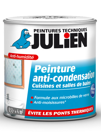 peinture anti condensation peintures julien. Black Bedroom Furniture Sets. Home Design Ideas