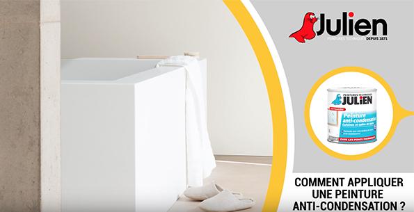 comment appliquer une peinture anti condensation peintures julien - Comment Appliquer De La Peinture